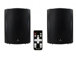 Imagem - Kit de caixas acústicas preta Ativa + Passiva com Bluetooth de 6 polegadas e 120W RMS | Frahm | KIT PS PLUS BT 6 - KITPSPLUSBT6-PT