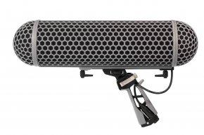 Imagem - Kit Suporte para microfone Shotgun até 325 mm | Zeppelin, Cabo interno e Windshield | RODE | BLIMP - BLIMP