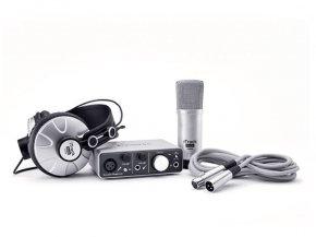 Imagem - Kit Home Estúdio com interface de 2 canais, microfone e fone | Gravação em iPad, Mac ou PC | Focusrite | iTrack Studio - ITRACKSTUDIO