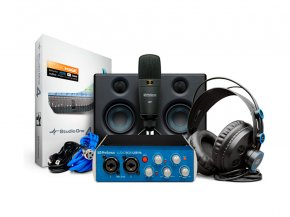 Imagem - Kit Home Estúdio - Interface 2 canais, Mic, Fone e Monitor | Presonus | Audiobox 96 Studio Ultimate - AUDIOBOX96STUDIOULTIMATE