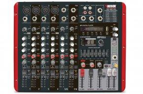 Imagem - Mesa amplificada com 8 canais e 300W RMS por canal em 4 ohms | MP3 Player USB e Bluetooth | Novik Neo | NVK-800P USB - NVK800PBT