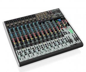 Imagem - Mesa analógica 12 canais | 8 canais com pré-microfone Xenyx + 4 canais estéreo | Behringer | XENYX X2222USB - XENYXX2222USB