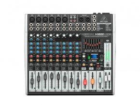 Imagem - Mesa analógica 8 canais,  6 canais com pré-microfone Xenyx + 2 canais estéreo | Behringer | X1222USB - X1222USB