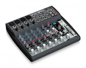 Imagem - Mesa analógica de 8 canais   4 canais XLR + 4 canais estéreo, EQ e FX   Behringer   XENYX 1202FX - XENIX1202FX