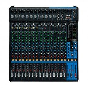 Imagem - Mesa de som analógica com 20 canais | 12 mono / mic. (Max. 16) + 4 estéreo | USB | FX | MG20XU | Yamaha