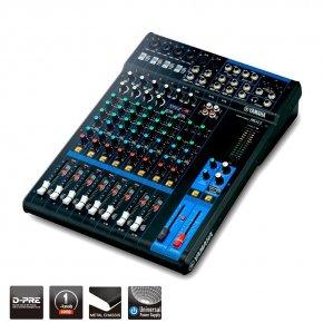 Imagem - Mesa de som analógica com 12 canais | 4 mono/mic + 4 estéreo | 2 AUX | MG12 | Yamaha - MG12