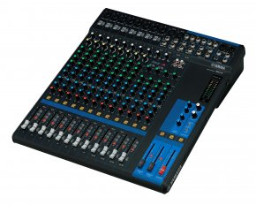 Imagem - Mesa de som analógica com 16 canais: 8 mono + 4 estéreo | MG16 | Yamaha