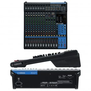 Imagem - Mesa de som analógica com 16 canais: 8 mono + 4 estéreo | USB | FX | MG16XU | Yamaha
