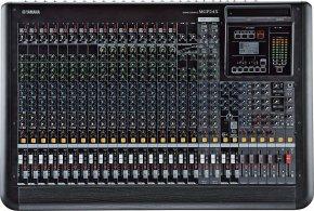 Imagem - Mesa de som analógica com 24 canais | (24 mono e 4 estéreo) | 6 mandadas AUX | MGP24X | Yamaha