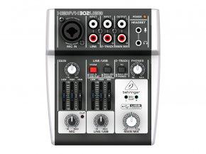 Imagem - Mesa e interface com 1 pré-amplificador, 2 entradas de linha, Phantom 48v e USB | Behringer | 302USB - 302USB