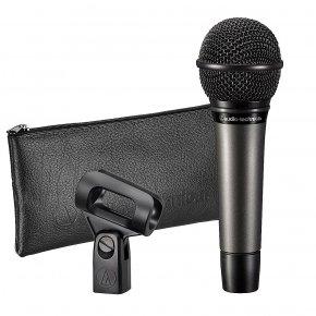 Imagem - Microfone cardioide dinâmico de mão   Cardioide   Sistema antivibração interno   ATM510   audio-technica