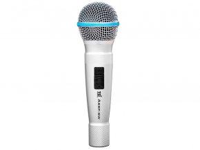 Imagem - Microfone com fio dinâmico cardioide com corpo de alumínio | Acompanha case e cabo | TSI | A68P-SW - A68P-SW