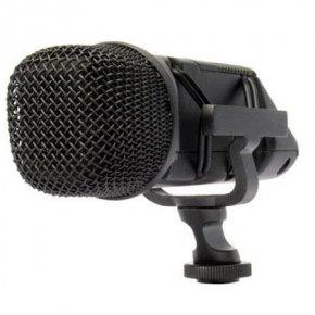 Imagem - Microfone condensador estéreo XY para câmera de vídeo ou gravador | RODE | Stereo VideoMic - SVM