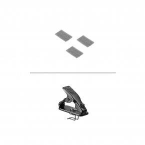 Imagem - Microfone de lapela condensador onidirecional para sistema sem fio | MT830cW | audio-technica - MT830CW