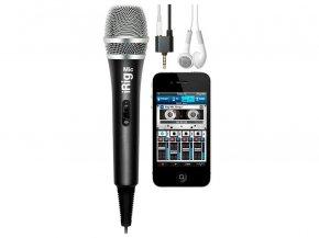 Imagem - Microfone de mão para Smartphone, celular ou tablet com saída para fone | IK Multimedia | Irig Mic - IRIGMIC