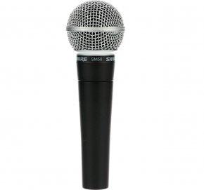 Imagem - Microfone de mão para vocais ao vivo, capsula dinâmica com padrão polar cardioide | SHURE | SM58-LC - SM58-LC