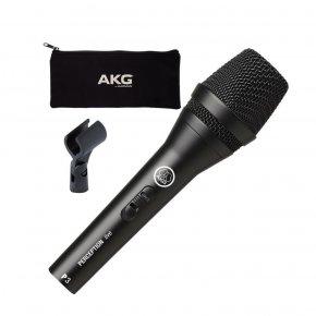 Imagem - Microfone dinâmico cardioide de alto desempenho com chave liga / desliga | AKG | P3S - P3S