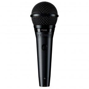 Imagem - Microfone dinâmico cardioide para voz principal e backing com chave liga/desliga | SHURE | PGA58 - PGA58