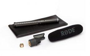 Imagem - Microfone direcional Condensador Supercardioide | pilha AA (1.5V) ou Phantom P48 | RODE | NTG2 - NTG2