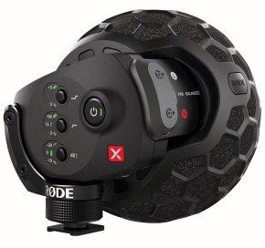 Imagem - Microfone estéreo condensador de configuração XY para broadcast | Rode | Stereo VideoMic X - SVMX