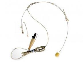 Imagem - Microfone headset para sistema sem fio   Conexão MINI XLR 3 Pinos   TSI   HS-FINE-XLR - HSFINE-XLR