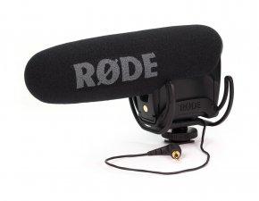Imagem - Microfone shotgun profissional com suspensão Rycote para câmeras e gravadores | RODE | VideoMic Pro - VMPR