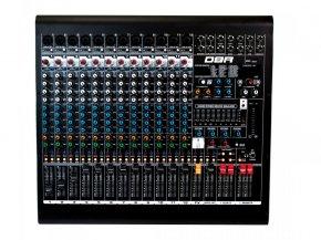 Imagem - Mixer analógico com 12 canais XLR e 4 auxiliares | FX, USB e Bluetooth | DBR | DM12USB - DM12USB