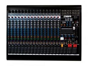 Imagem - Mixer analógico com 16 canais XLR e 4 auxiliares | FX, USB e Bluetooth | DBR | DM16USB - DM16USB