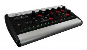 Imagem - Mixer individual amplificador de fone 16 canais com funções solo, mute e EQ | Behringer | P16-M - P16-M