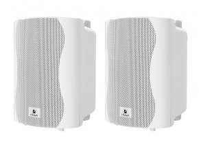 Imagem - Par de caixas de som passiva brancas de 4 polegadas e 40W RMS em 8 ohms | Frahm | PS 4 PLUS  - PS4B