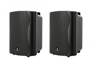 Imagem - Par de caixas de som passiva pretas de 4 polegadas e 40W RMS em 8 ohms | Frahm | PS 4 PLUS - PS4P
