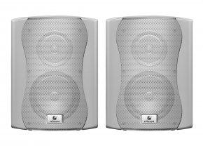 Imagem - Par de caixas passivas brancas para ambientes externo, 6 polegadas com 60W RMS em 8 ohms | Frahm | PS 6 PLUS OUTDOOR - PS6PLUSOUT-BR