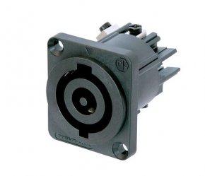 Imagem - Powercon 3 pólos  de painel para até 32A e até 250V | Neutrik | NAC3MP-HC - NAC3MPHC