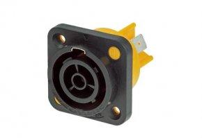 Imagem - Powercon fêmea de painel 16A a prova de água com capacidade de interrupção | Neutrik | NAC3FPX - NAC3FPX