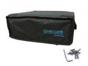 Imagem - Bag Case 4U, barra dupla, revestido com espuma e nylon preto | Solid Sound | BAG4UTPT - BAG4UTPT