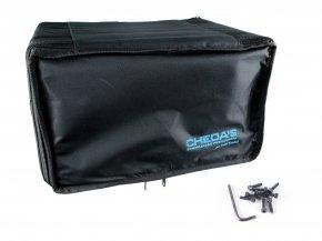Imagem - Bag Case 6U, barra dupla, revestido com espuma e nylon preto | Solid Sound | BAG6UTPT - BAG6UTPT