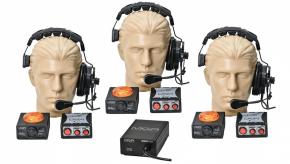 Imagem - Sistema comunicação de 3 pontos | Fonte, Headset, Controles e Sinalizadores | MGA Pro Audio | SI33 - SI33
