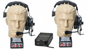 Imagem - Sistema de comunicação intercom com 2 pontos | Fonte, 2 Headset e 2 controles | MGA Pro Audio | SI20 - SI20