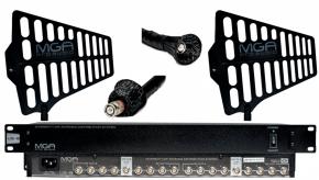 Imagem - Sistema de distribuição RF para microfone UHF de 470 ~ 952 MHz | MGA Pro Audio | US-8 2100 A-1 - US8-2100-A1