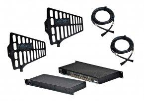 Imagem - Sistema de RF para microfone UHF com Distribuidor, Antenas e Cabos | MGA Pro Audio | US4 2075 A1 - US4-2075-A1