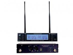 Imagem - Microfone sem fio duplo de mão com sistema QUAD DIVERSITY de 600 canais | BR-8000-UHF | TSI - BR-8000-UHF