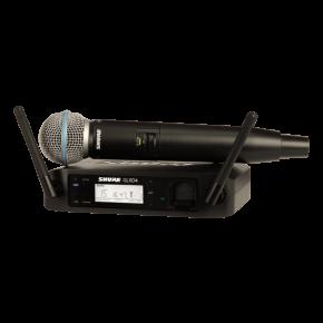 Imagem - Sistema de microfone sem fio com bastão de mão BETA58A | GLXD24/BETA58A | Shure - GLXD24/BETA58A
