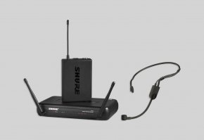 Imagem - Sistema de microfone sem fio com headset PGA31 (microfone de cabeça) | SVX14/PGA31 | Shure - SVX14/PGA31