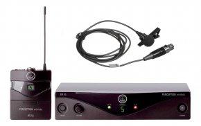Imagem - Sistema sem fio com microfone de lapela e banda de frequência U2 614 - 629 MHz | AKG | P45L - P45L