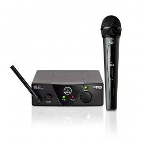 Imagem - Sistema de microfone sem fio, cardioide e frequência US25B 537.900 MHz | WMS40 Mini Vocal Set | AKG - WMS40MINI