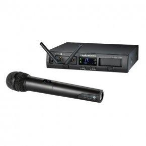 Imagem - Sistema de microfone sem fio digital | 2,4 GHz 24-bit / 48kHz | Microfone transmissor de mão | ATW-1302 | audio-technica