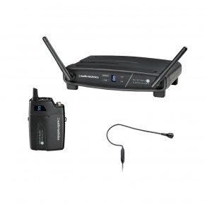 Imagem - Sistema de microfone sem fio digital | 2,4 GHz | Microfone transmissor Headset | ATW-1101/H92 | audio-technica