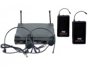 Imagem - Sistema de microfone sem fio duplo - UHF - Com 2 microfones headset| U585HH | JWL - U585HH