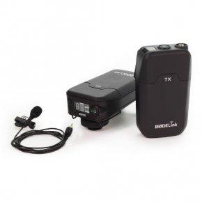 Imagem - Sistema de microfone lapela sem fio para câmera | RODE | RØDELink Filmmaker Kit - FILMMAKER