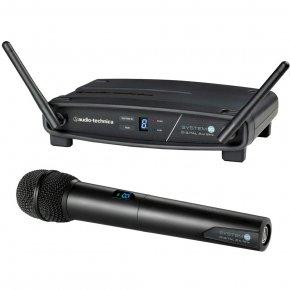 Imagem - Sistema de microfone sem fio System 10 | Microfone transmissor de mão | 2,4 GHz | ATW-1102 | audio-technica